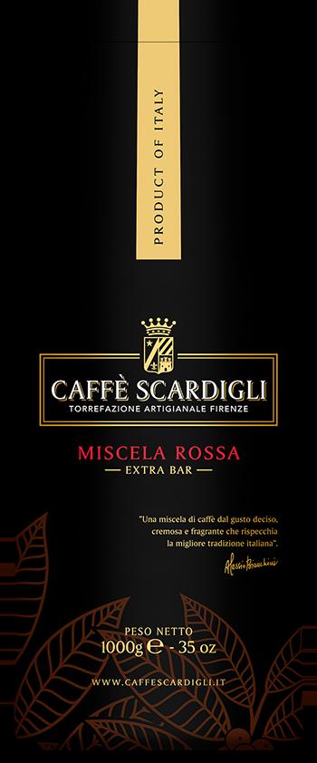 Caffè in Grani e Macinato per Bar e Moka - Caffè Scardigli Firenze
