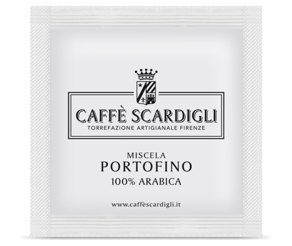 Cialda Caffè 100% Arabica Miscela Portofino - Caffè Scardigli