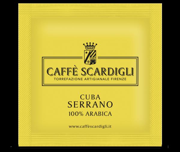Cialda Caffè 100% Arabica Cuba Serrano - Caffè Scardigli Torrefazione