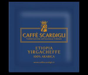 Cialda Caffè 100% Arabica Etiopia - Caffè Scardigli
